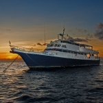 Vessel-at-sunset-Caribbean-Explorer-2-Explorer-Ventures-Liveaboard-Diving