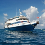 Vessel-on-water-bow-Caribbean-Explorer-2-Explorer-Ventures-Liveaboard-Diving