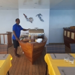 Buffet-table-Carpe-Novo-Explorer-Maldives-Explorer-Ventures-Liveaboard-Diving