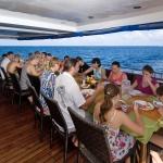 Dinner-table-Carpe-Vita-Explorer-Maldives-Explorer-Ventures-Liveaboard-Diving