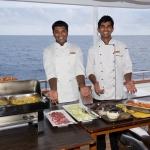 Outdoor-buffet-Carpe-Vita-Explorer-Maldives-Explorer-Ventures-Liveaboard-Diving