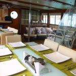Dining-table-Humboldt-Explorer-Galapagos-Explorer-Ventures-Liveaboard-Diving