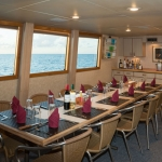 Dinner-Table-Turks-and-Caicos-Explorer-2-Explorer-Ventures-Liveaboard-Diving