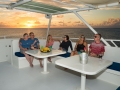 Fly-Bridge-Sunset-Guests-Turks-and-Caicos-Explorer-2-Explorer-Ventures-Liveaboard-Diving