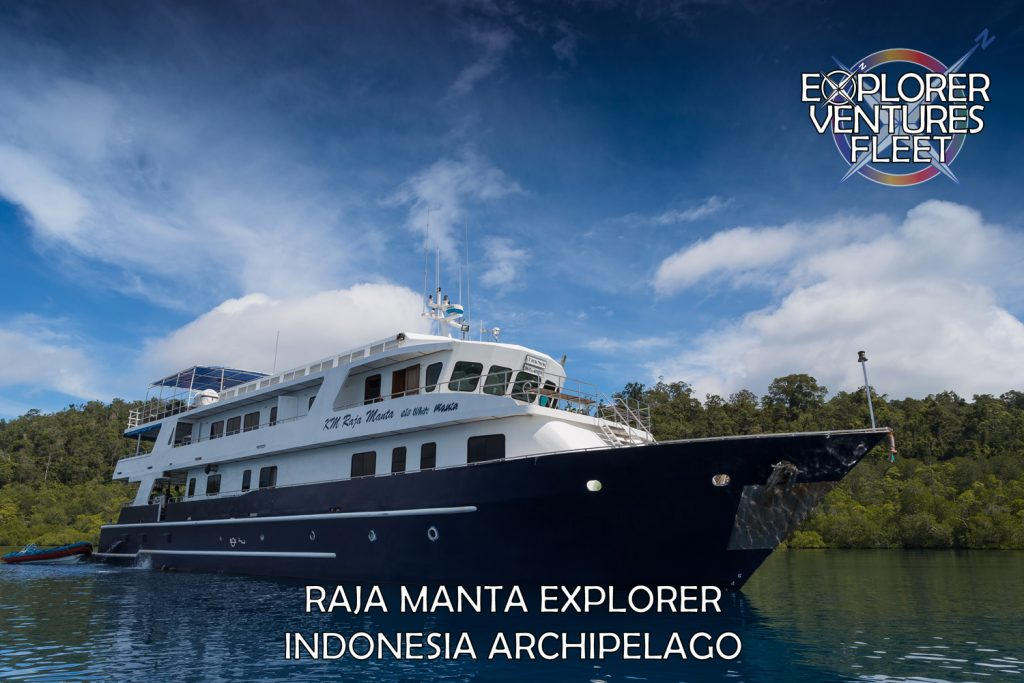 Indonesia Raja Manta Explorer | Explorer Ventures Liveaboard Fleet