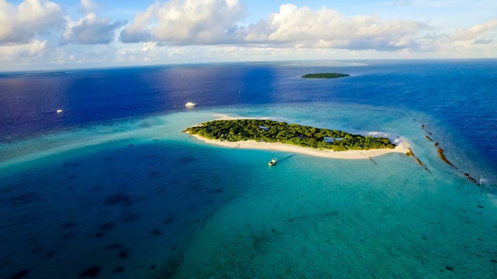 coral maldives