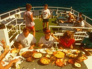 Lunch on sundeck of caribbean explorer 1 cropped
