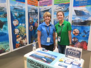 Green Fins, Reef World and Explorer Ventures at ADEX