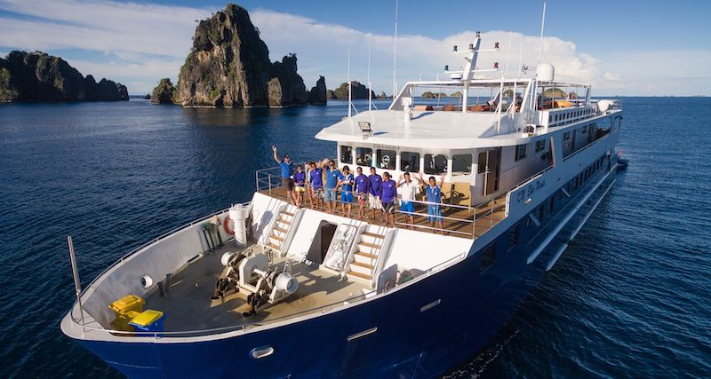 Blue Manta Explorer - Choose Explorer Ventures