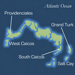 Turks and Caicos Cruise | Turks and Caicos map
