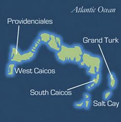 Turks & Caicos Map